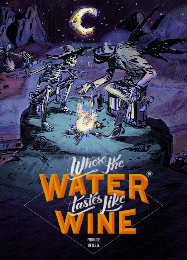 Where the Water Tastes Like Wine cover art